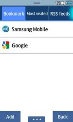 Samsung S5250 Wave 525 - Internet - Internet browsing - Step 7
