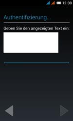 Alcatel Pop C3 - Apps - Konto anlegen und einrichten - 1 / 1