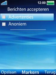 Sony Ericsson W100i Spiro - MMS - probleem met ontvangen - Stap 11