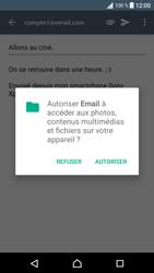 Sony Xperia E5 - E-mail - envoyer un e-mail - Étape 14