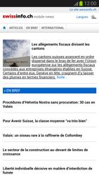 Samsung Galaxy S III - Internet et roaming de données - Navigation sur Internet - Étape 13