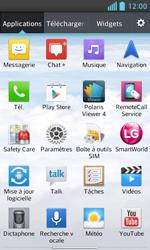 LG E460 Optimus L5 II - Wifi - configuration manuelle - Étape 2