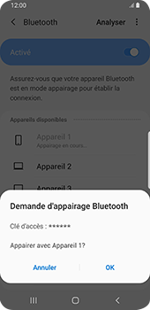 Samsung Galaxy S9 Android Pie - Bluetooth - connexion Bluetooth - Étape 10