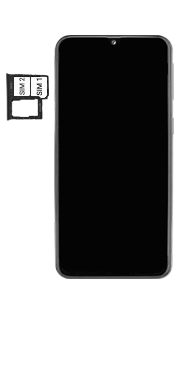 Samsung Galaxy A40 - Premiers pas - Insérer la carte SIM - Étape 5