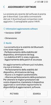 Samsung Galaxy S8 - Android Oreo - Software - Installazione degli aggiornamenti software - Fase 8