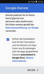 Samsung G389 Galaxy Xcover 3 VE - E-Mail - Konto einrichten (gmail) - Schritt 15
