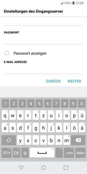 LG G6 - Android Oreo - E-Mail - Konto einrichten - Schritt 13