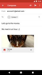 Google Pixel XL - E-mail - Sending emails - Step 16