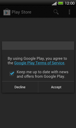 HTC One SV - Applications - Setting up the application store - Step 16