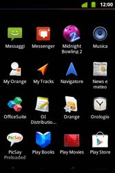 Alcatel OT-983 - Applicazioni - configurazione del negozio applicazioni - Fase 3