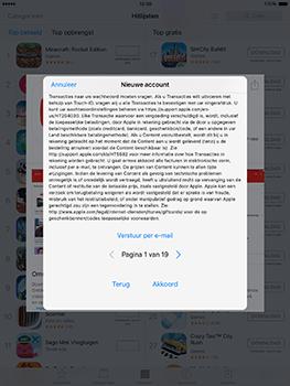 Apple ipad-pro-9-7-inch-met-ios10-model-a1674 - Applicaties - Account aanmaken - Stap 9