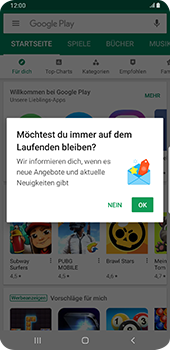 Samsung Galaxy S9 Plus - Android Pie - Apps - Einrichten des App Stores - Schritt 20