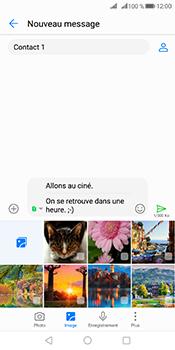 Huawei Mate 10 Pro - Contact, Appels, SMS/MMS - Envoyer un MMS - Étape 15