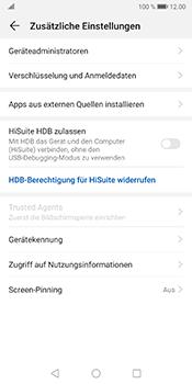 Huawei Mate 10 Pro - Android Pie - Startanleitung - So aktivieren Sie eine SIM-PIN - Schritt 5