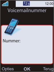 Sony W595 - Voicemail - Handmatig instellen - Stap 6