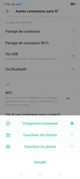Oppo A9 2020 - Internet et connexion - Utiliser le mode modem par USB - Étape 6