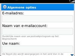 BlackBerry 9320 Curve - E-mail - Handmatig instellen - Stap 13