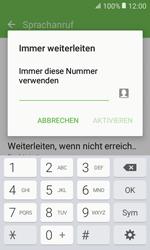 Samsung Galaxy Xcover 3 VE - Anrufe - Rufumleitungen setzen und löschen - 0 / 0