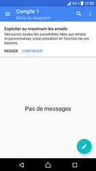 Sony Xperia X - E-mails - Ajouter ou modifier un compte e-mail - Étape 23
