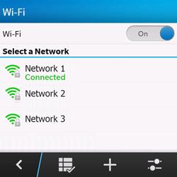 BlackBerry Q10 - WiFi - WiFi configuration - Step 9