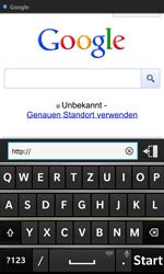 BlackBerry Z10 - Internet und Datenroaming - Verwenden des Internets - Schritt 8