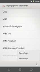 Sony Xperia Z1 - Internet - Manuelle Konfiguration - Schritt 17