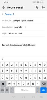 Huawei Y5 (2019) - E-mail - envoyer un e-mail - Étape 8