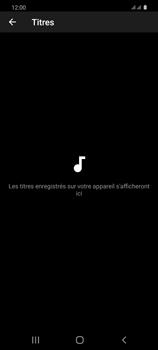 Samsung Galaxy S20 - Photos, vidéos, musique - Ecouter de la musique - Étape 8
