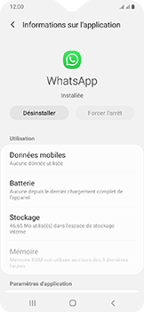 Samsung Galaxy A20e - Applications - Supprimer une application - Étape 6