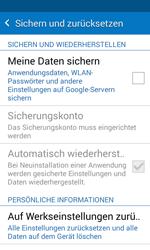Samsung G388F Galaxy Xcover 3 - Fehlerbehebung - Handy zurücksetzen - Schritt 7