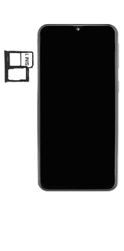 Samsung Galaxy A40 - Premiers pas - Insérer la carte SIM - Étape 4