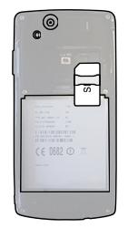 Sony Ericsson Xperia Arc S - SIM-Karte - Einlegen - Schritt 3