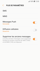 Samsung Galaxy S6 - Android Nougat - SMS - configuration manuelle - Étape 7