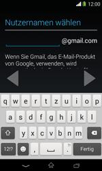 Sony Xperia E1 - Apps - Konto anlegen und einrichten - 9 / 23