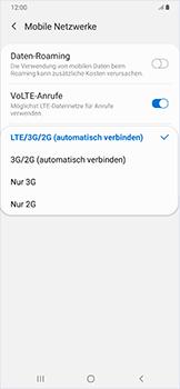 Samsung Galaxy A50 - Netzwerk - Netzwerkeinstellungen ändern - Schritt 7