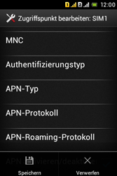 Sony Xperia Tipo Dual - MMS - Manuelle Konfiguration - Schritt 18