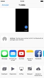 Apple iPhone 7 - Photos, vidéos, musique - Créer une vidéo - Étape 11