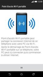 HTC Desire 610 - Internet et connexion - Partager votre connexion en Wi-Fi - Étape 7