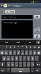 Samsung N7100 Galaxy Note II - MMS - Sending pictures - Step 7