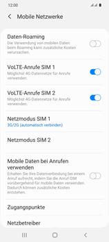 Samsung Galaxy S20 5G - Netzwerk - So aktivieren Sie eine 4G-Verbindung - Schritt 6