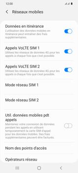 Samsung Galaxy S20 5G - Internet et roaming de données - Désactivation du roaming de données - Étape 6
