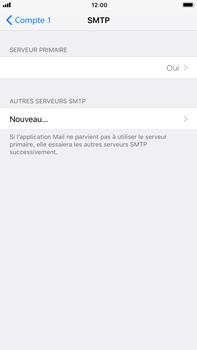 Apple iPhone 7 Plus - iOS 11 - E-mail - configuration manuelle - Étape 20