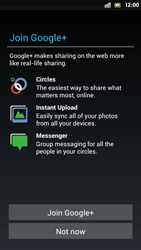 Sony Xperia S - Applications - Setting up the application store - Step 10