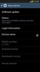 Samsung Galaxy S 4 Active - Software - Installing software updates - Step 7