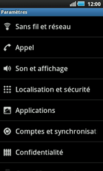 Samsung I5800 Galaxy Apollo - Messagerie vocale - Configuration manuelle - Étape 4