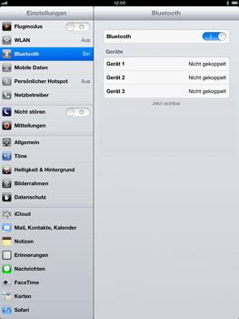 Apple iPad mini - Bluetooth - Verbinden von Geräten - Schritt 7