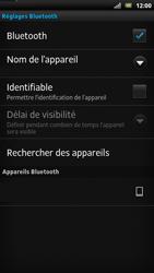 Sony LT22i Xperia P - Bluetooth - connexion Bluetooth - Étape 9