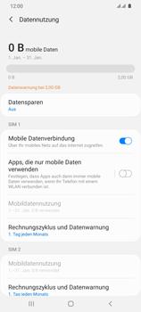 Samsung Galaxy S20 Ultra 5G - Internet und Datenroaming - Prüfen, ob Datenkonnektivität aktiviert ist - Schritt 7