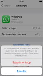 Apple iPhone SE - iOS 13 - Applications - Comment désinstaller une application - Étape 7