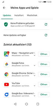 Huawei Mate 10 Pro - Android Pie - Apps - Nach App-Updates suchen - Schritt 8